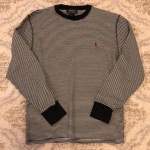 MENS Polo Ralph Lauren Striped Long Sleeve Size M